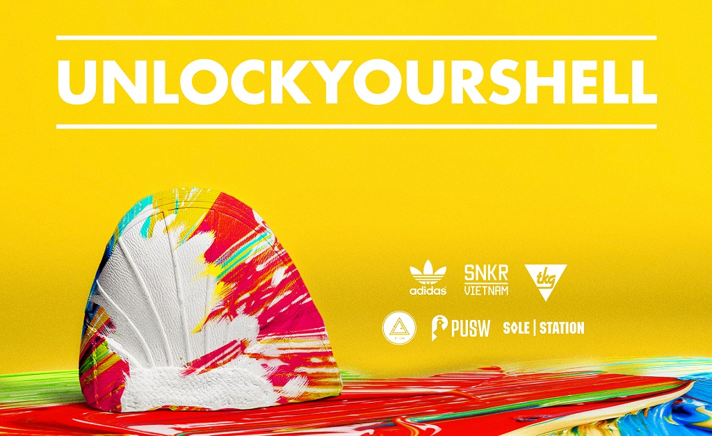 SNKR Viet Nam Cuoc Thi UNLOCK YOUR SHELL poster