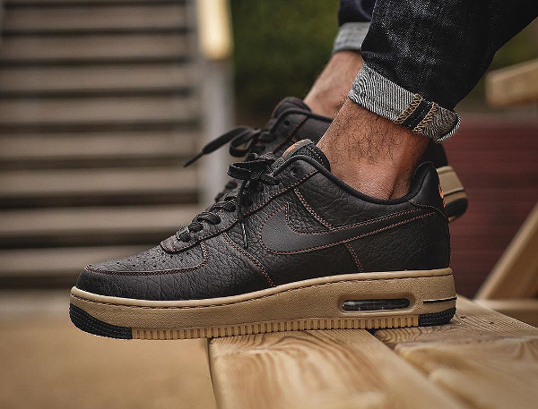 Nike Air Force 1 High Tawny Nike Shox Brown Leather For Sale On ... 3818cb4de