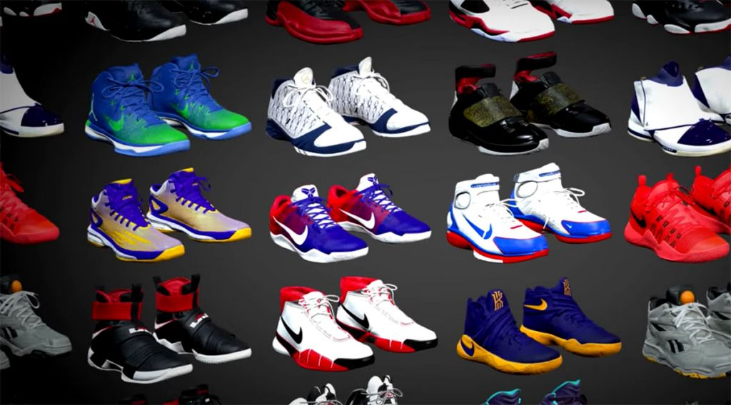 NBA 2k17 shoes collection