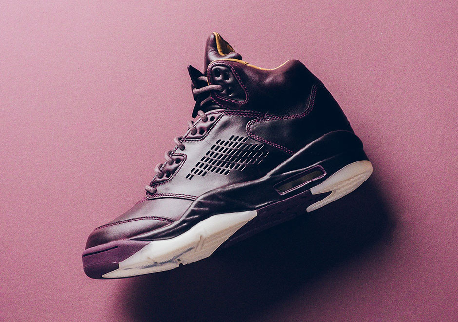 Air Jordan 5 Retro Premium 'Bordeaux' in 2019 | Air jordan 5