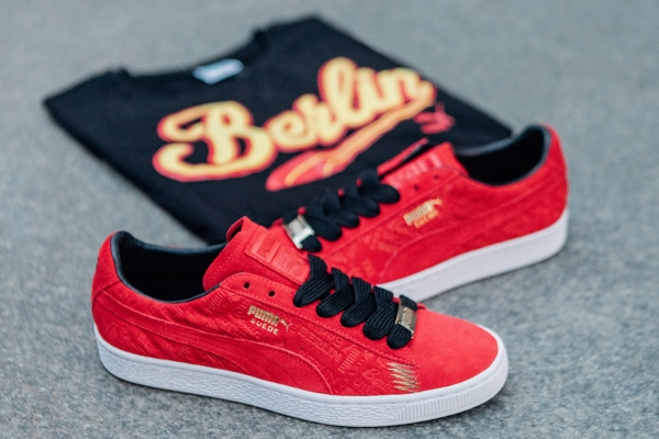 Puma Suede Breakdancing Cities collection