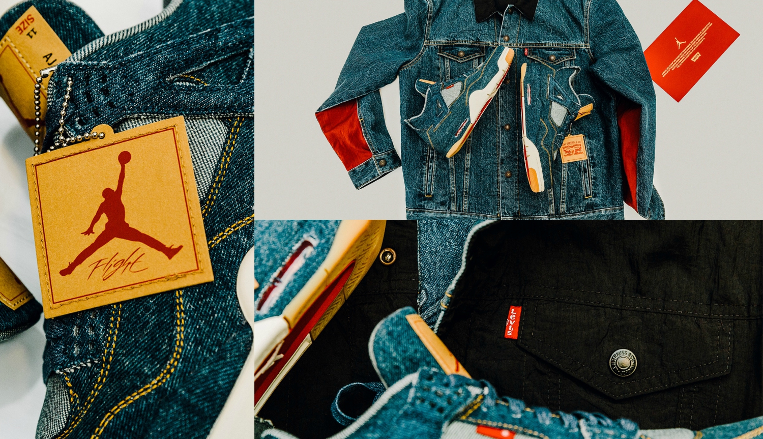 Jordan Brand x Levi's Unveil Air Jordan 4