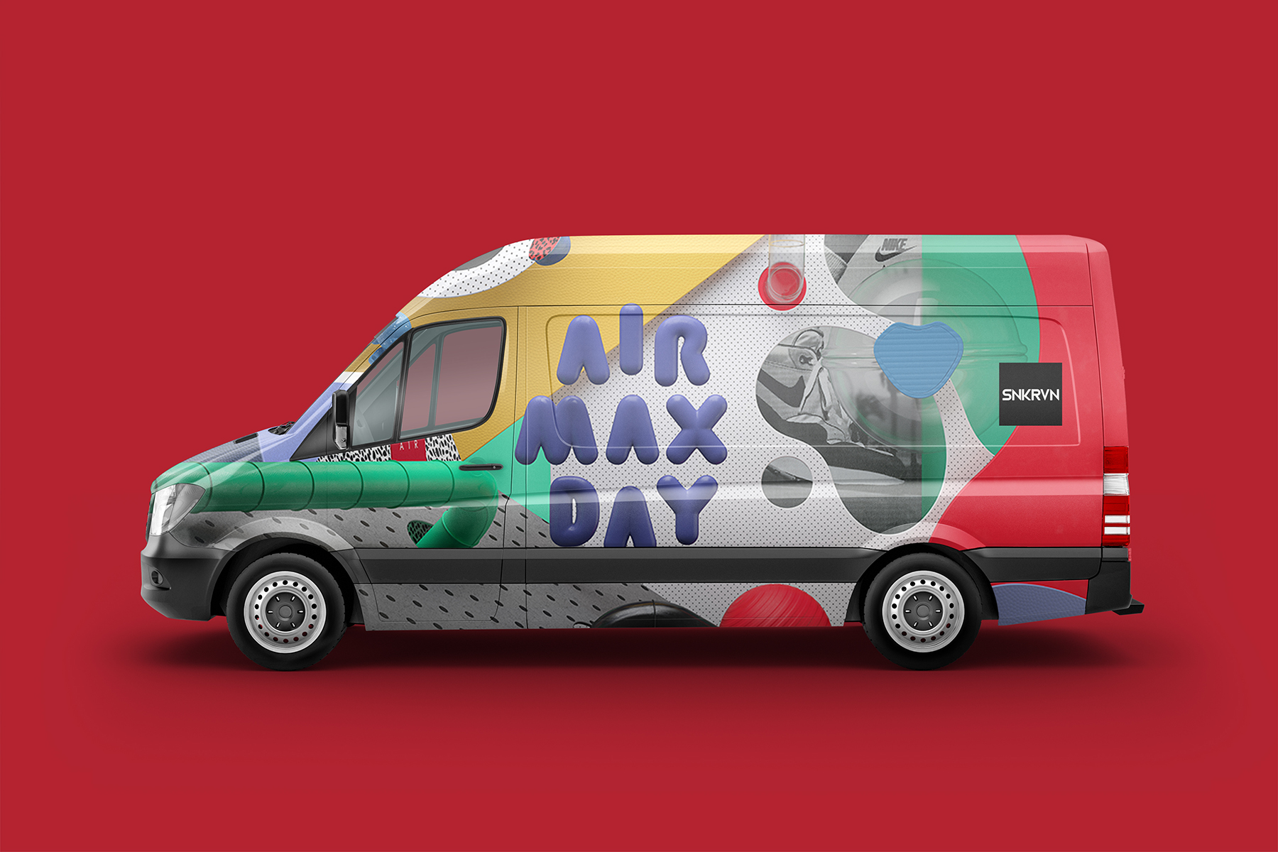 SNKRVN Air Max Day van