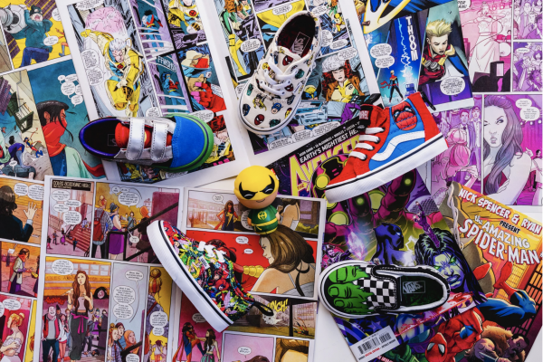 Vans x Marvel for kid