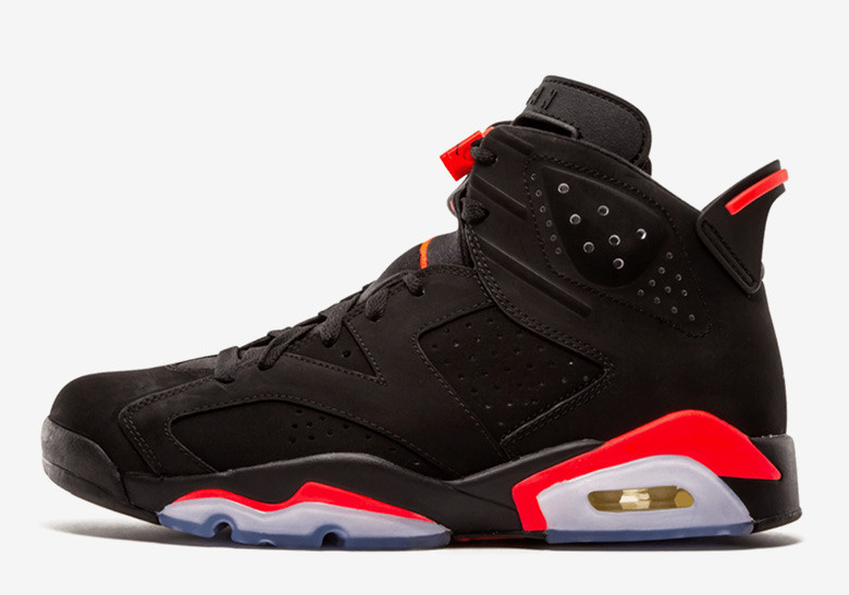 "Air Jordan 6 ""Black Infrared"""