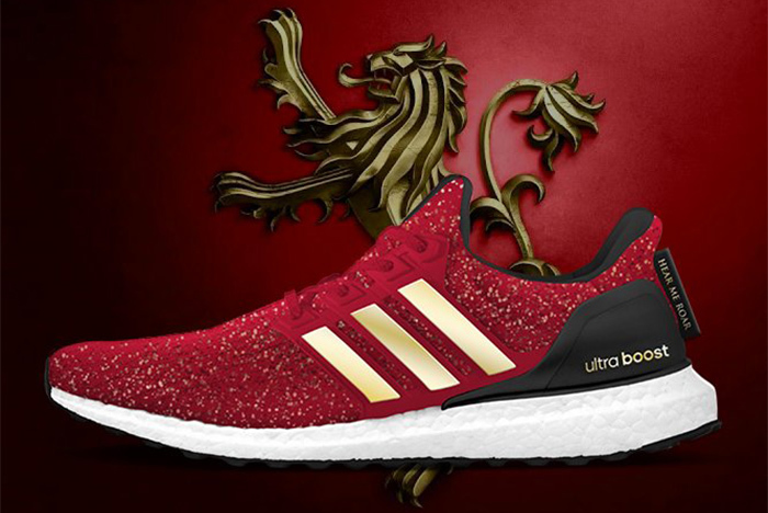 adidas UltraBoost x Game Of Thrones Lannisters