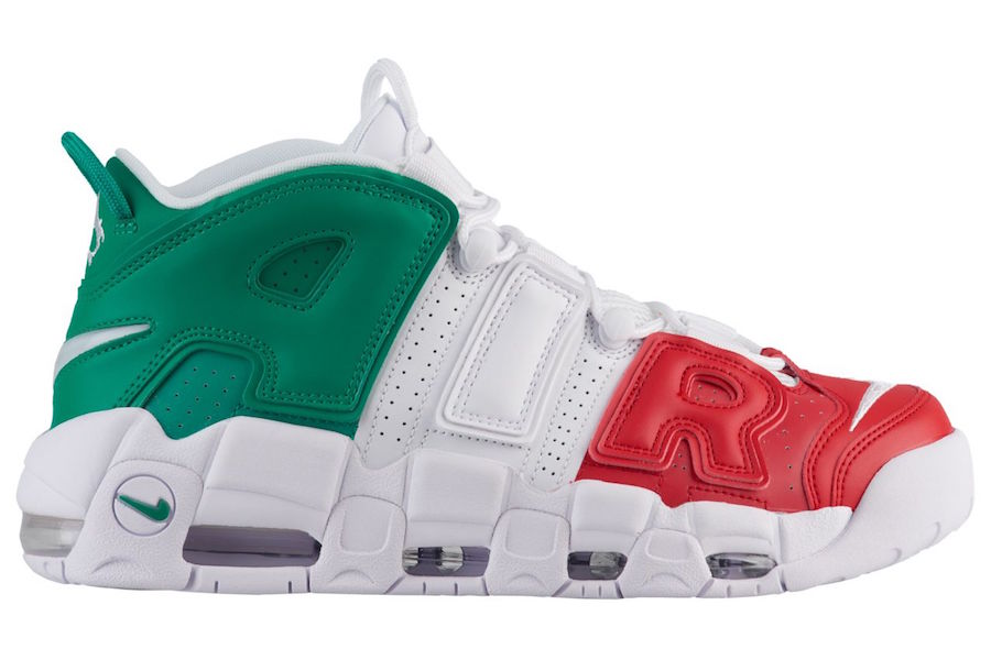 Air More Untempo trong International Pack của Nike
