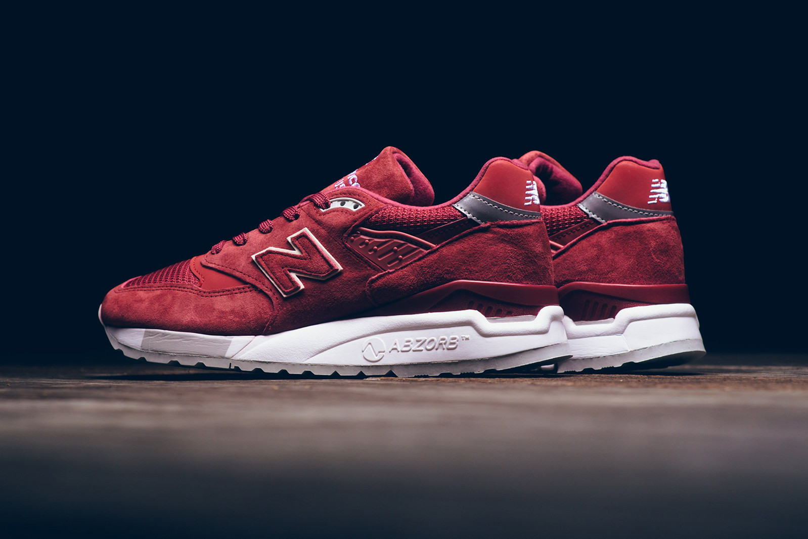 Top 10 red sneakers - New Balance 998