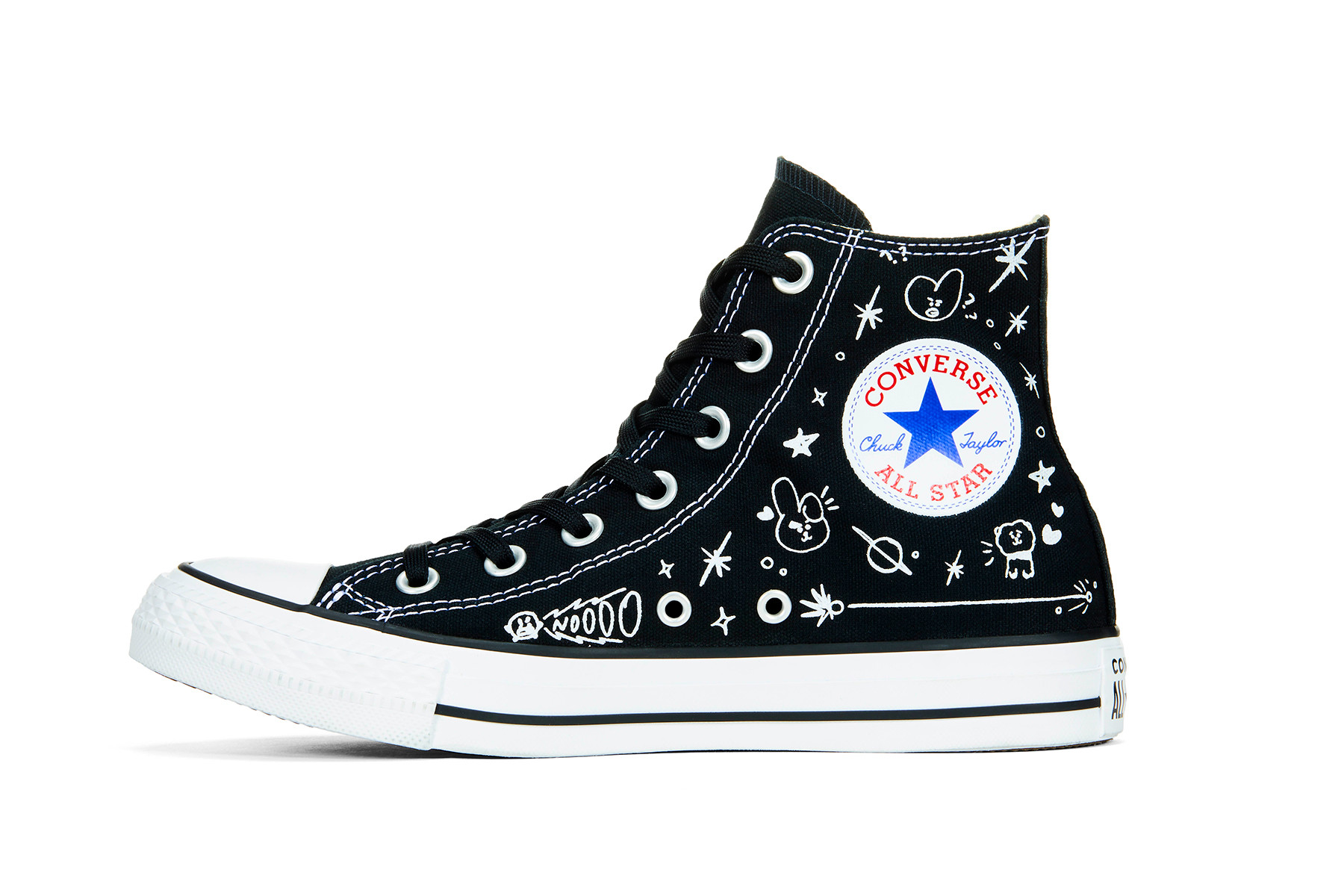 The holy ghost electric show : Converse x bt21 giá