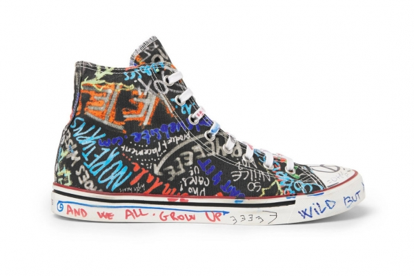 Graffiti Sneakers Vetements
