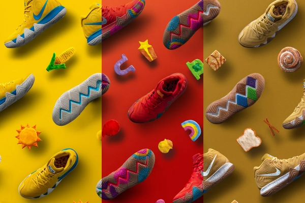 """Nike Kyrie 4 """"Cereal Pack"""""""