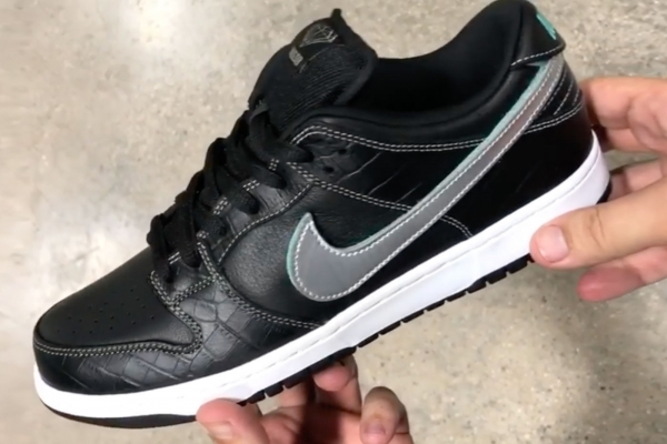 "Diamond Supply Co. x Nike SB Dunk Low ""Black Diamond"""
