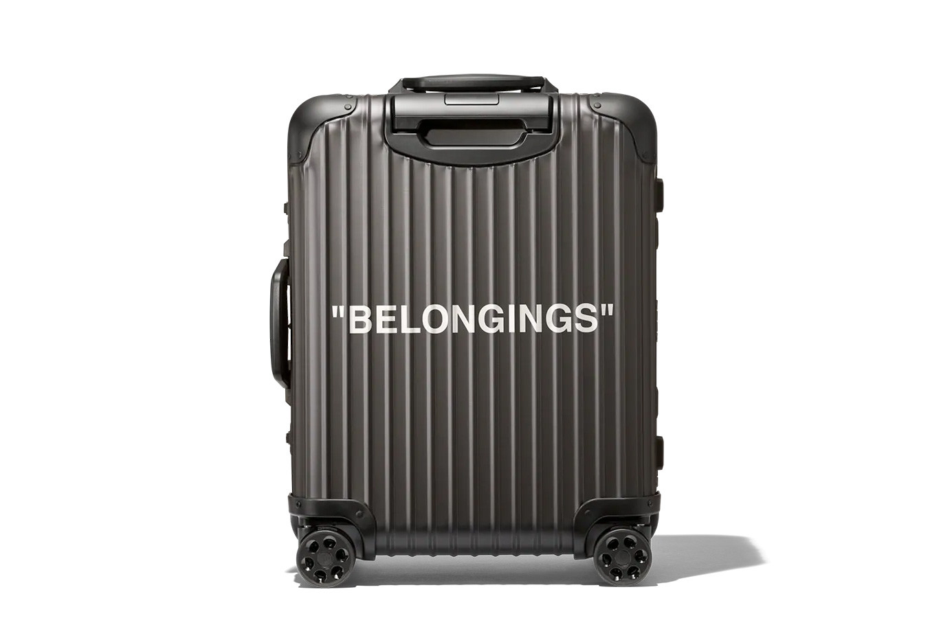 "Off-White x RIMOWA ""Personal Belongings"" SNKRVN"