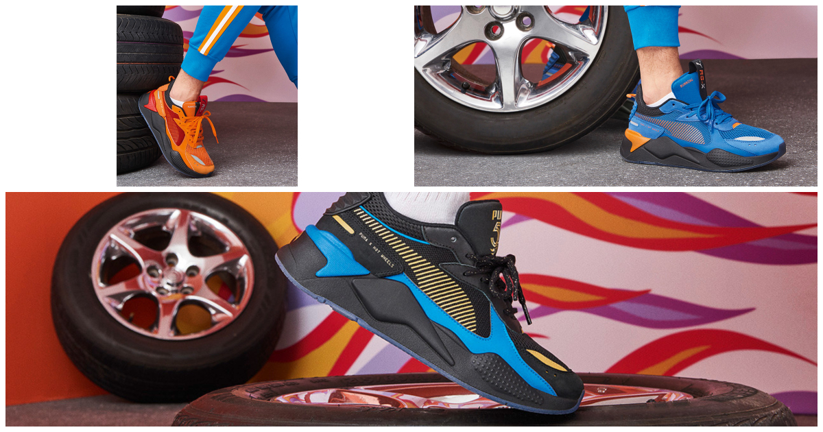 PUMA x Hot Wheel RS-X Cover