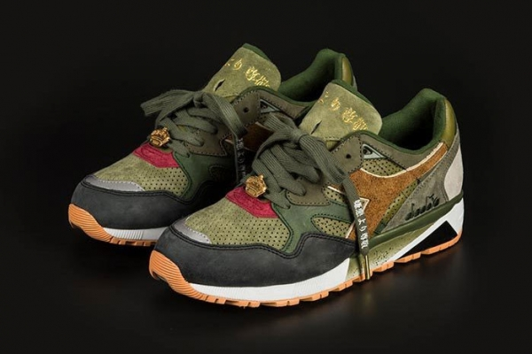 24 Kilates x mita x Mighty Crown x Diadora N9002