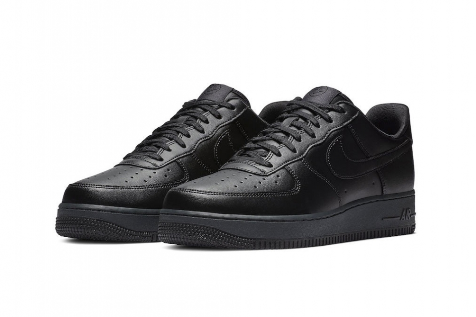 """Air Force 1 Flyleather """"Triple Black"""""""