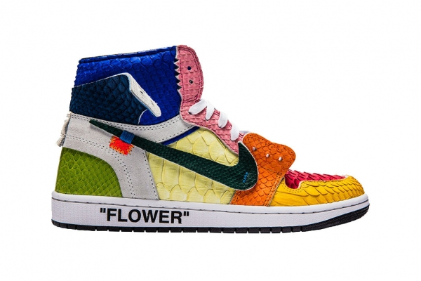 SNKRVN - The Shoe Surgeon tôn vinh Takashi Murakami với Off-White™ Air Jordan 1