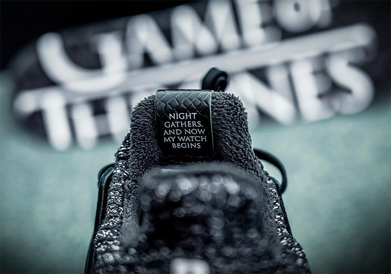 "'Game of Thrones' x adidas UltraBOOST ""Night's Watch"""