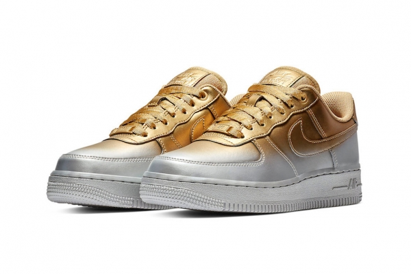 "Air Force 1 Low ""Silver and Gold"""
