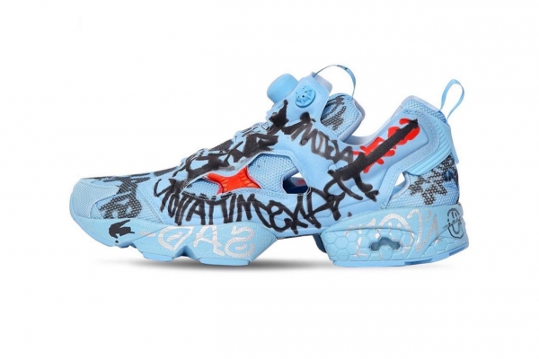 "Vetements x Reebok Instapump Fury ""Grafitti"" 2.0"