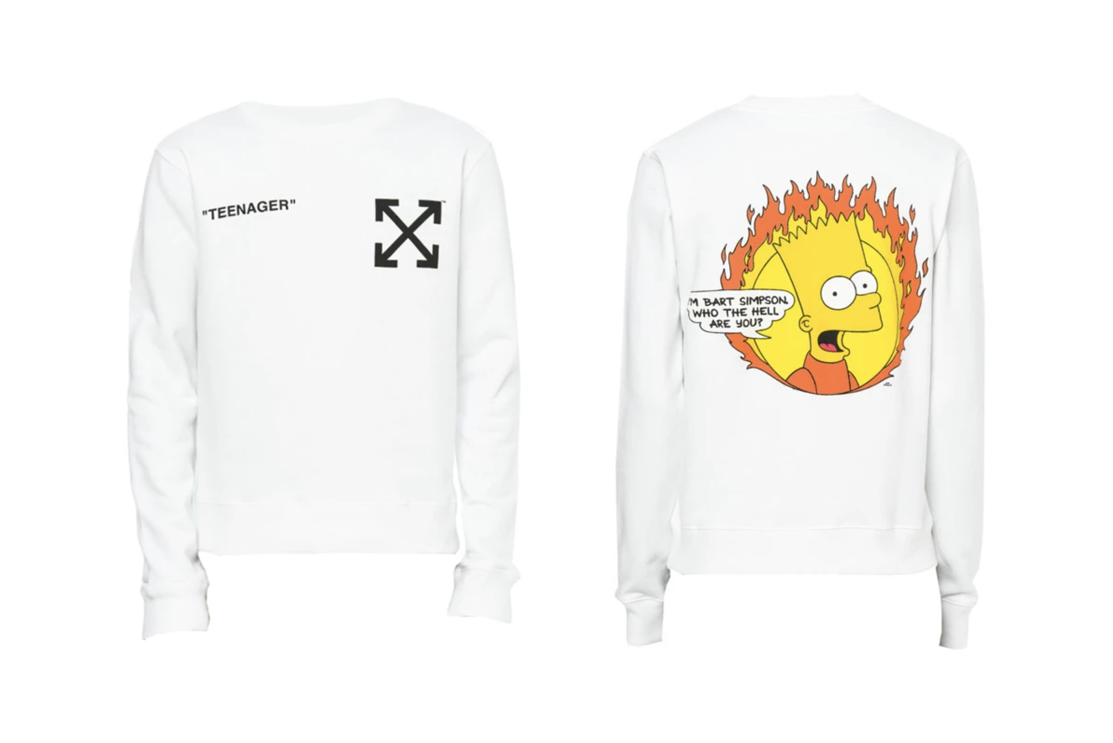 OFF-WHITE x The Simpsons SS19