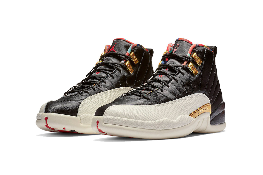 "6. Air Jordan 12 ""Chinese New Year"" 2019"