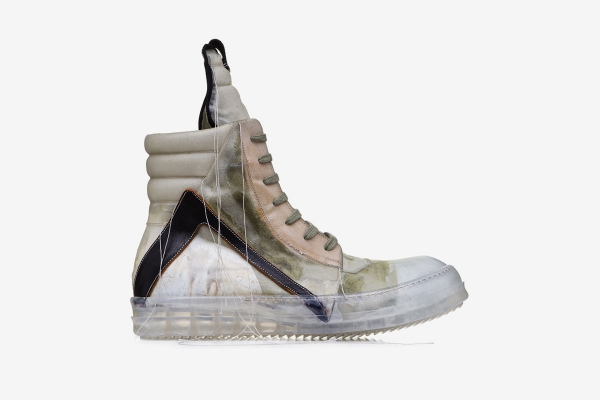 Rick Owens Geobasket Trong suốt