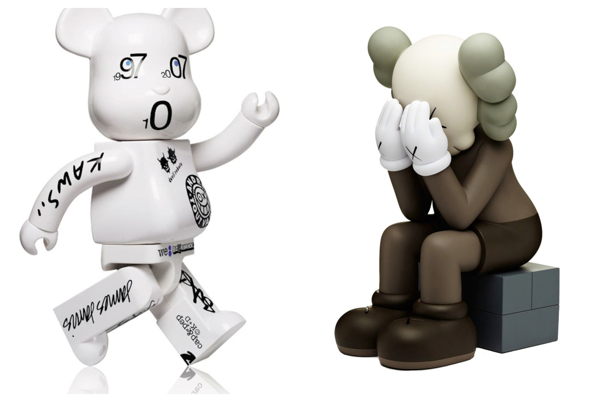 Companion KAWS vs Bearbrick thumb