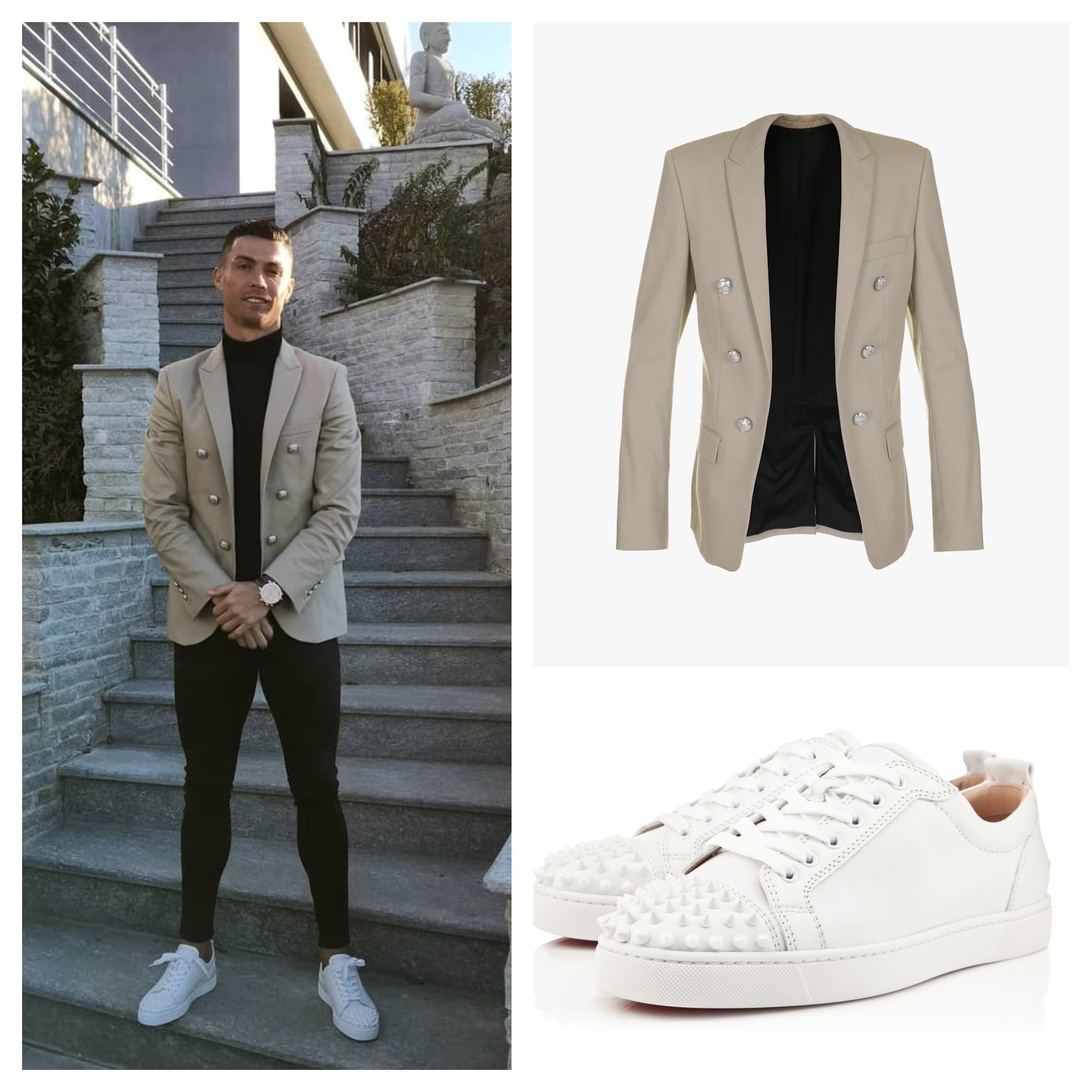 Christiano Ronaldo Outfit Style