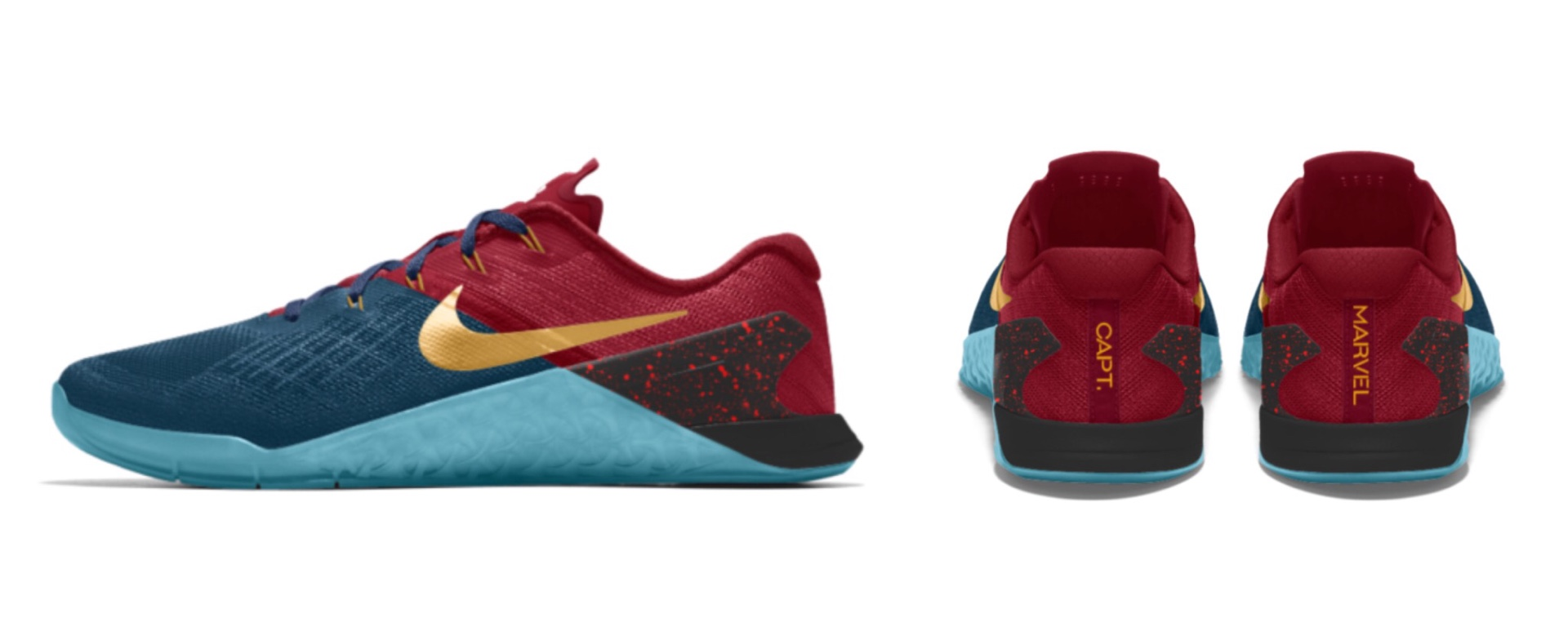 "Nike Metcon 3 ""Captain Marvel"""