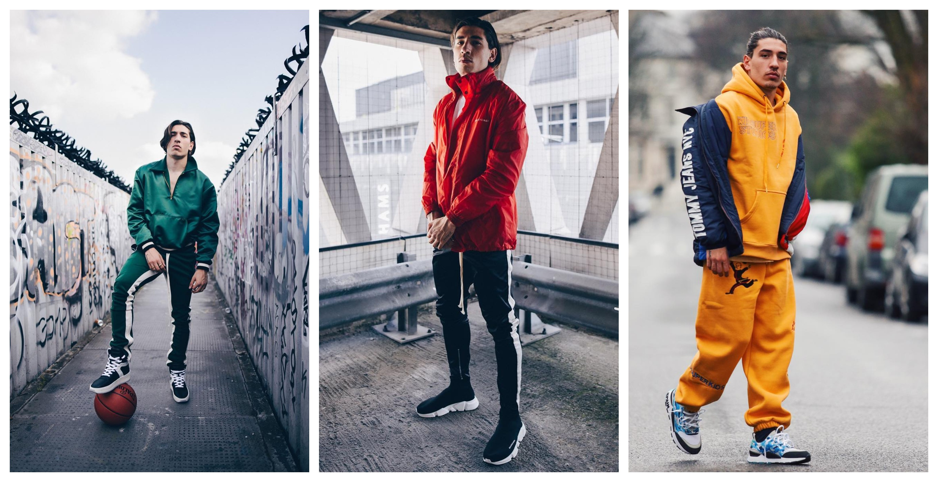 Hector Bellerin Outfit & Style