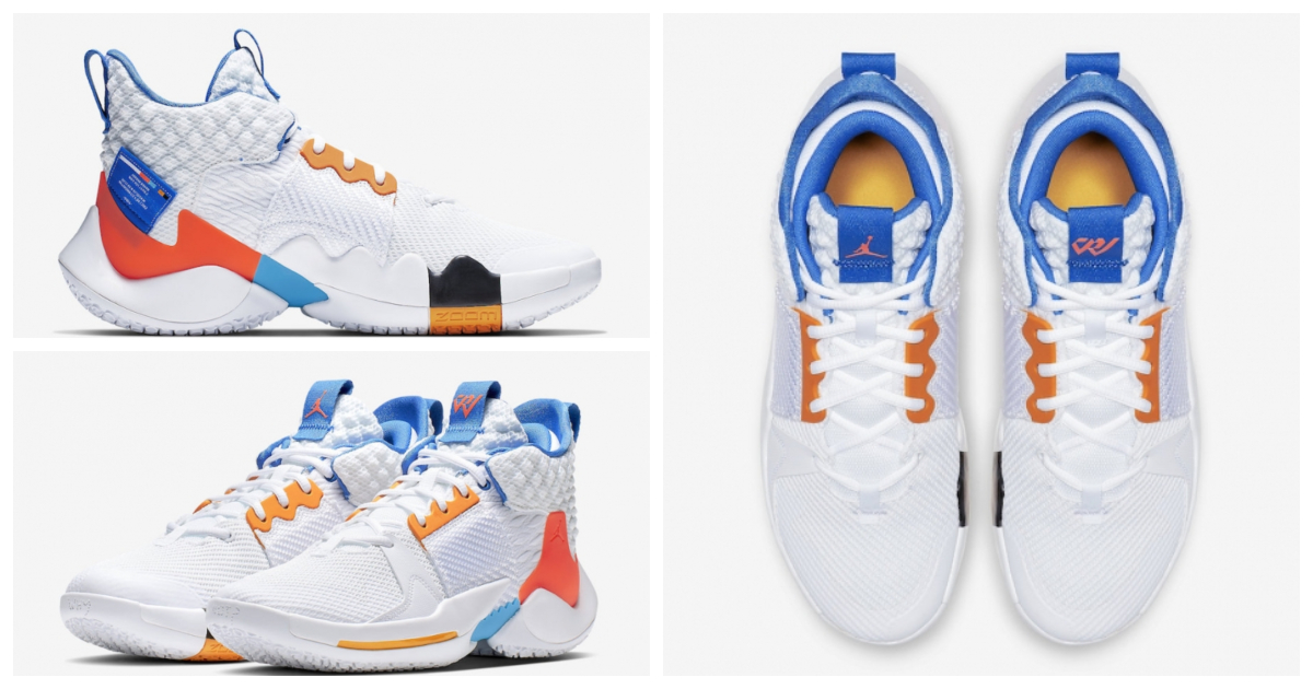Jordan Why Not Zer0.2 OKC Home