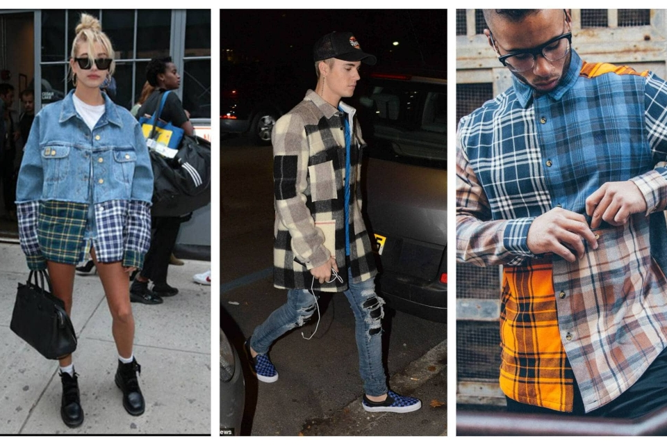 Patchwork Flannel Outfit Cover
