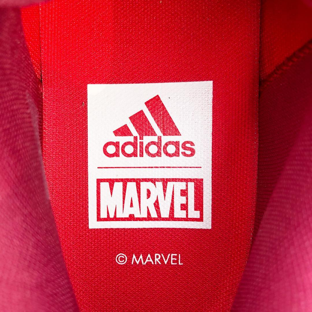 SNKRVN Iron Man Marvel adidas