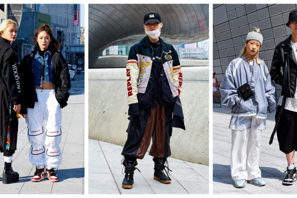 Seoul Fashion Week sneakers
