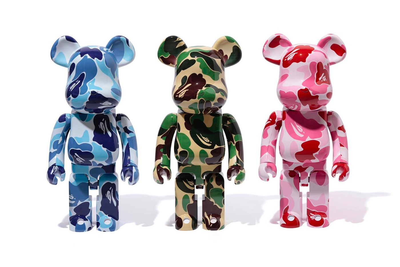 "BAPE x Medicom Toy ""ABC CAMO"" BE@RBRICK"