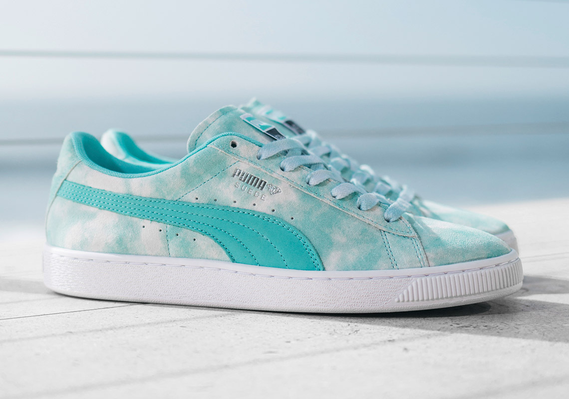 "Diamond Supply Co. x Puma ""California Dreaming"" phối màu bạc hà"