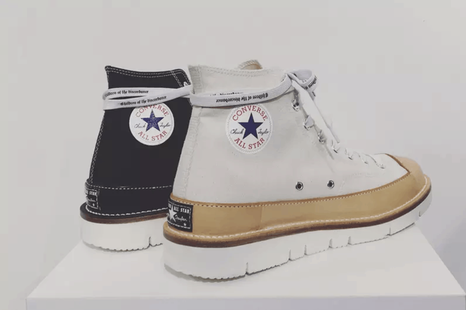 5. Children of the Discordance x RECOUTURE x Converse Chuck Taylor Remake