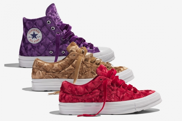 Tyler, The Creator x Converse Velvet collection