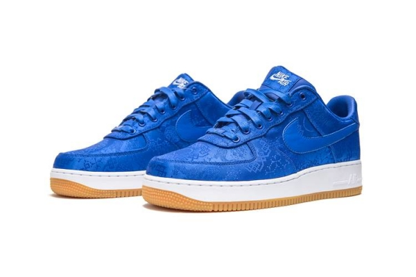 "CLOT x Nike Air Force 1 ""Game Royal"" 2"