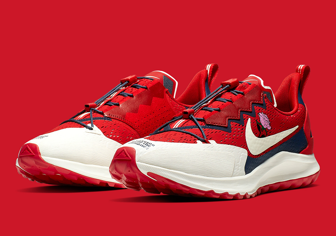 Pegasus 36 Trail red Front