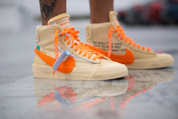 Nike Blazer Mid Off-White Hallow's Eve
