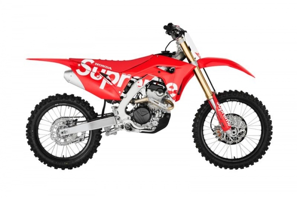 Supreme x Honda x Fox racing CRF 250