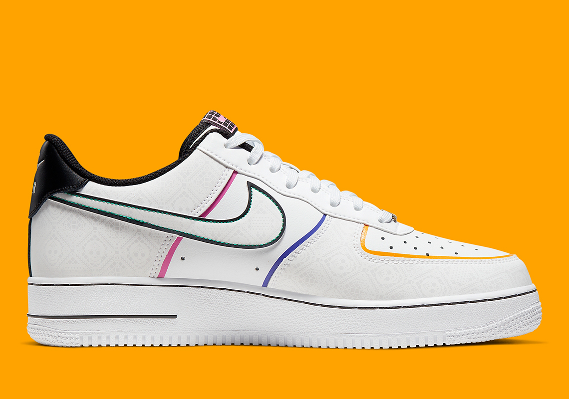 Air Force 1 Low Day of The Dead