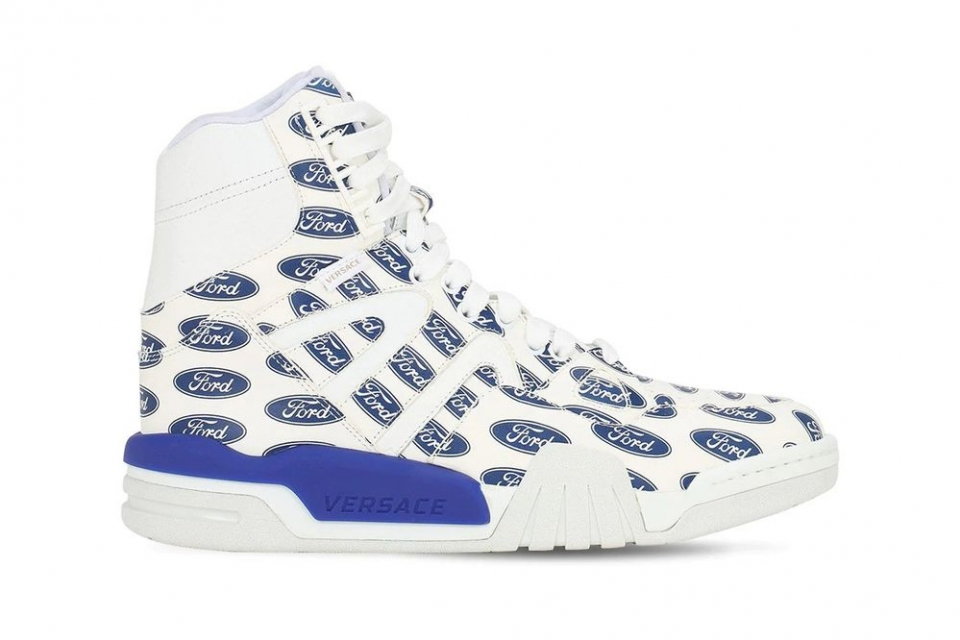 Versace x Ford high top