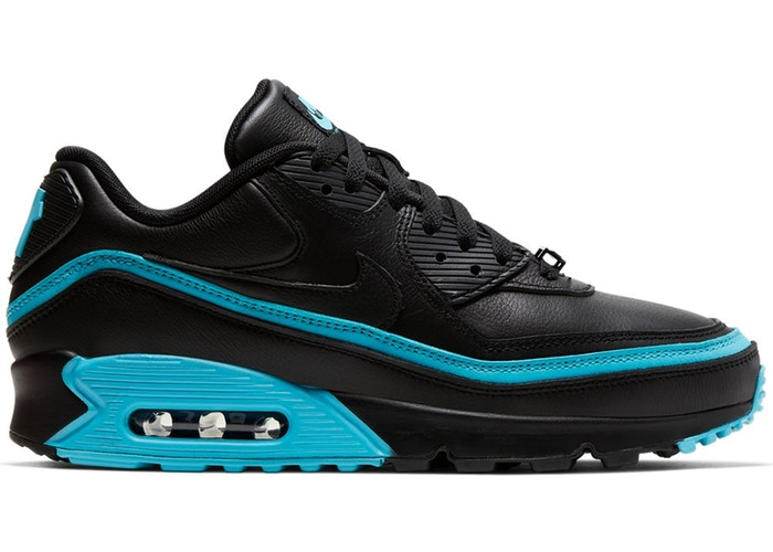 Air Max 90 Undefeated Black Blue Fury