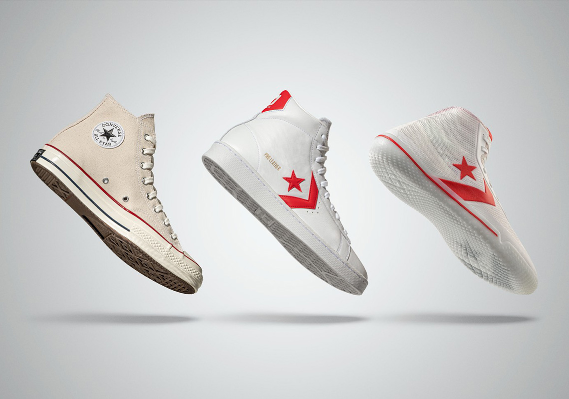 Converse Pro Leather Hi All-Star Pack