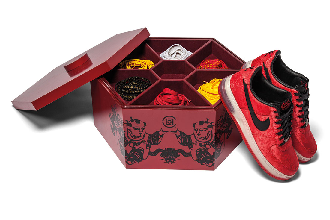 CLOT x Nike Air Force 1 Supreme (1WORLD)
