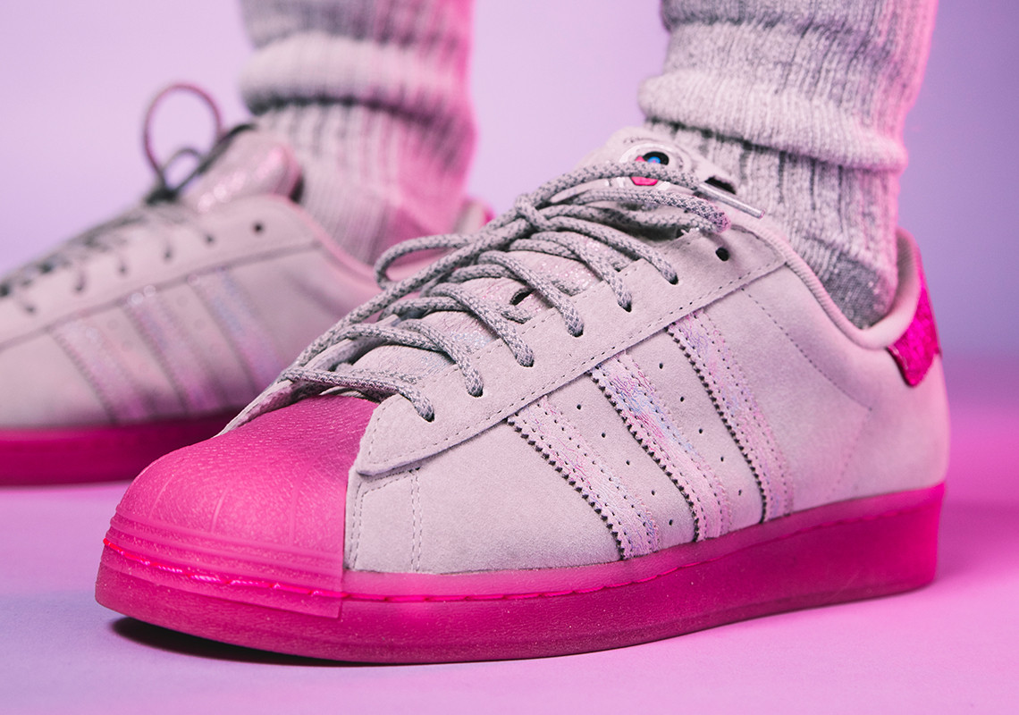 "Fat Tiger Workshop x adidas Superstar ""Chicago Plays Harder"" by Vic"