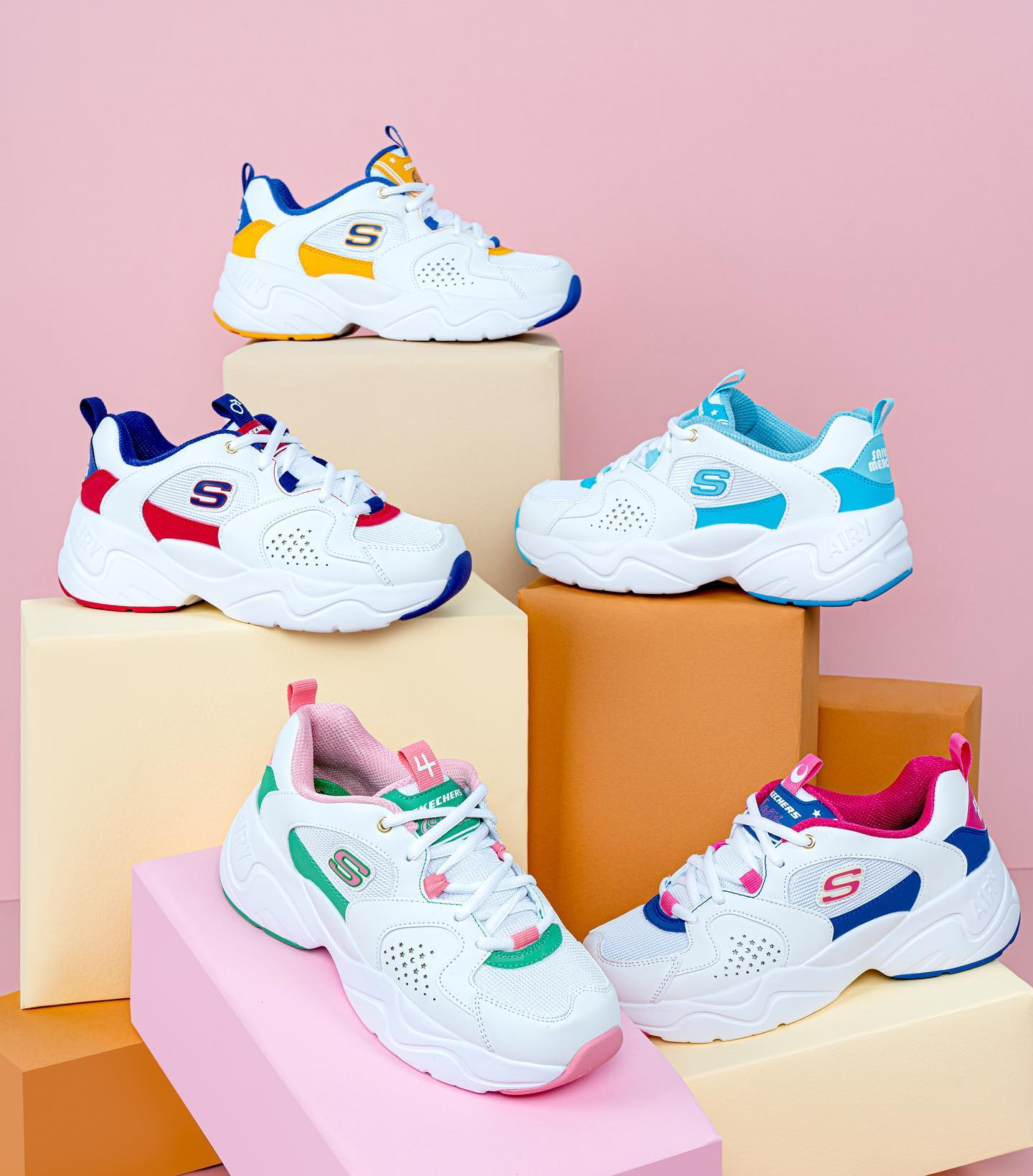Skechers x Sailor Moon D'Lites Airy 2.0